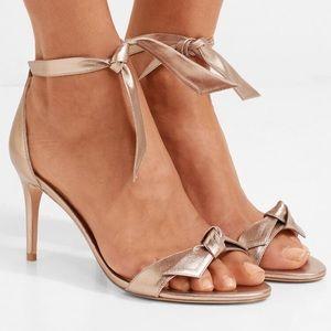 Alexandre Birman Luna Clarita Metallic Sandals